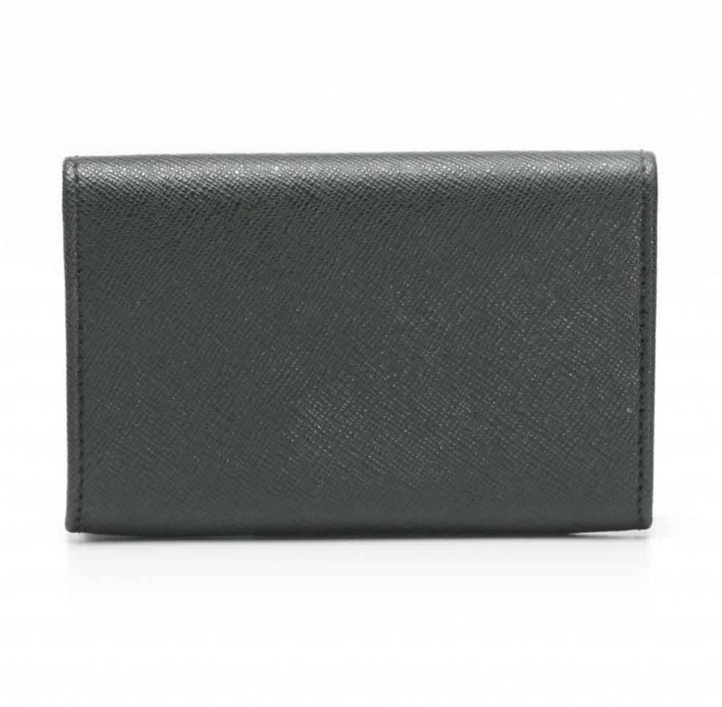 Cruciani Card Holder, Forest Green