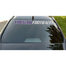 "Central Football Car Decal Strip - 3.75"" x 36"""""