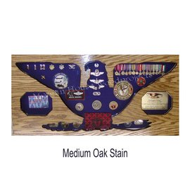 Morgan House Colonel / Navy Captain Shadow Box No Flag Area