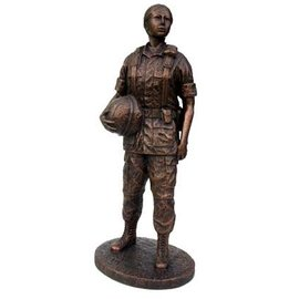 Terrance Patterson Woman in Arms with base and plate