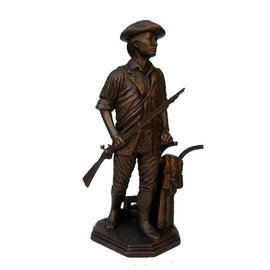 Terrance Patterson Minuteman Statue  - Small 13""