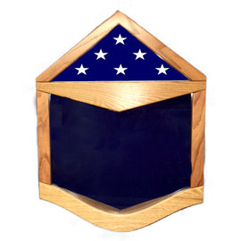 Morgan House Air Force SSgt Shadow Box