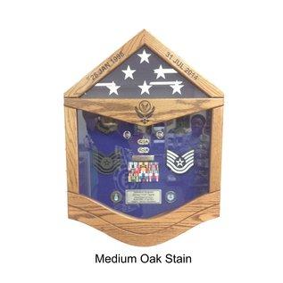 Morgan House MSB-E6AF Air Force TSgt Shadow Box