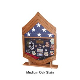 Morgan House Air Force CMSgt Shadow Box