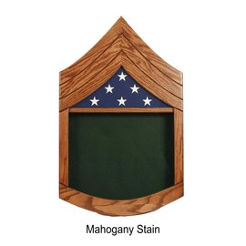 Morgan House US Army SSG Shadow Box