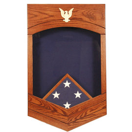 Morgan House US Navy /USCG CPO Shadow Box