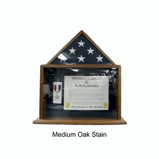 Morgan House Small Flag Case and Shadow Box