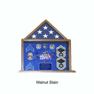Morgan House Small Flag Case and Shadow Box