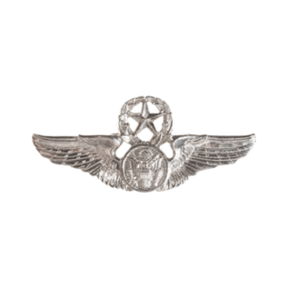 Enlisted Aircrew Member Wings Functional Badge