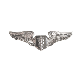 Flight Nurse Wings Functional Badge