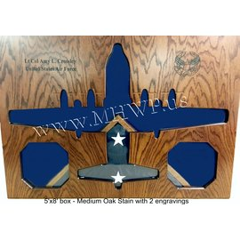 Morgan House C-130 Shadow Box