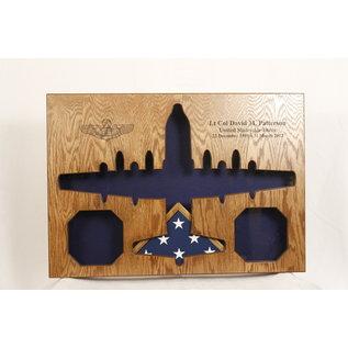 Morgan House C-130 Shadow Box