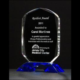 """K9060 - Diamond Crystal Trophy Crystal Trophy - 6 1/8 """" x 4 1/2 """""""
