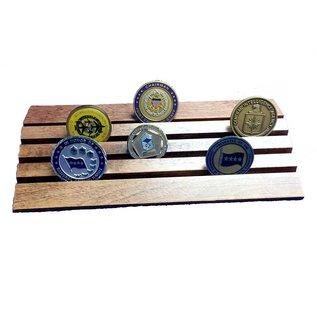Morgan House Wedge Coin Display