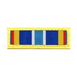 US Air Force Expeditionary Service gold border