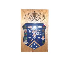 Morgan House Medical Badge Shadow Box