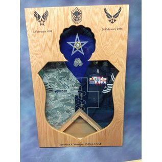 Morgan House Medical Badge Shadow Box