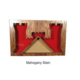 Morgan House Engineer's Badge Shadow Box