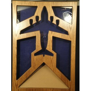 Morgan House MSB-C17 Shadow Box in the shape of a C-17