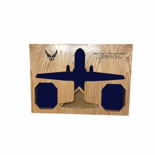 Morgan House Shadow Box in the shape of a CN-235 Persuader