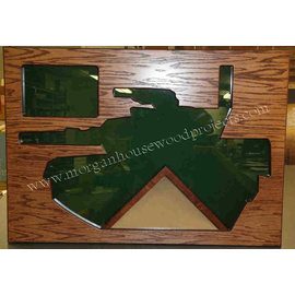 Morgan House M-1 Tank Shadow Box