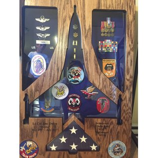 Morgan House F-16 Falcon Shadow Box