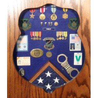 Morgan House OSI Badge Shadow Box