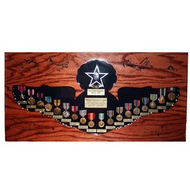 Morgan House Enlisted Wings Shadow Box