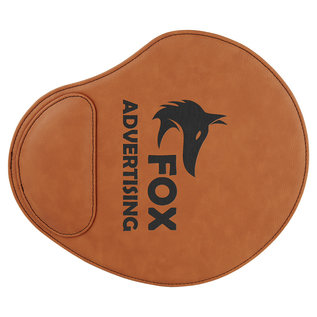 "9"" x 10 1/4"" Laserable Leatherette Mouse Pad"