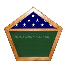 Morgan House Pentagon Shadow box