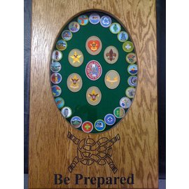 Morgan House MSB-BScout Boy Scout Shadow Box