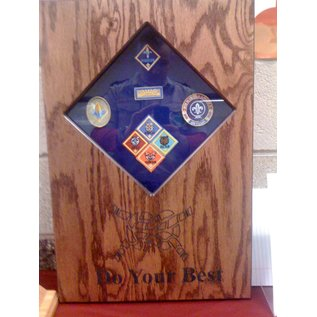 Morgan House Cub Scout Shadow Box