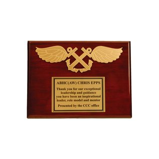 Functional Badge Plaque