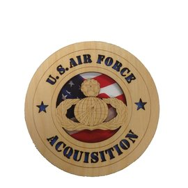 Morgan House Air Force Acquisition Badge Tribute - 5.75""
