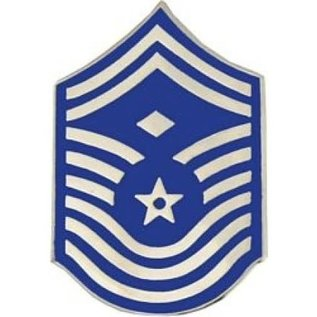 Air Force E9 First Sergeant Chevron Pin old style