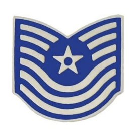 Air Force E7 Chevron Pin old style