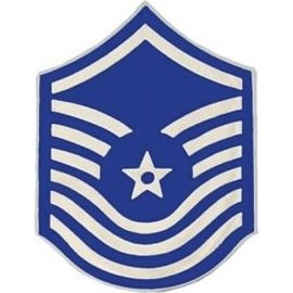 Air Force E8 Chevron Pin old style