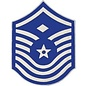 Air Force E8 First Sergeant Chevron Pin old style