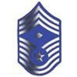 Air Force E9 First Sergeant Chevron Pin