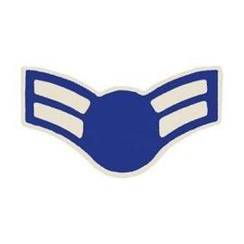 Air Force E3 Chevron Pin (no star)