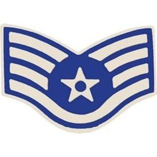 Air Force E5 Chevron Pin