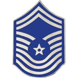 Air Force E9 Chevron Pin old style
