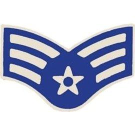 Air Force E4 Chevron Pin
