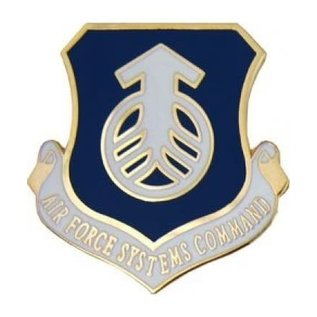Air Force Systems Command (AFSC) Pin - 15729 (1 1/8 inch)