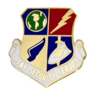 United States Air Force Security Service (USAFSS) Pin - 14210 (1 1/8 inch)