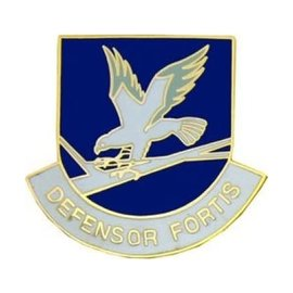 Air Force Security Defensor Fortis Pin - 14131 (1 1/8 inch)