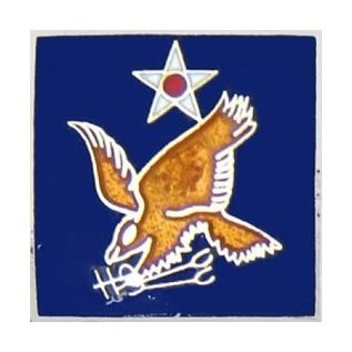2nd Air Force Pin (3/4 inch)