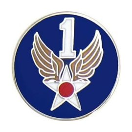 1st Air Force Pin (3/4 inch)