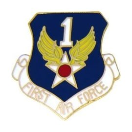 1st Air Force Pin (1 inch)