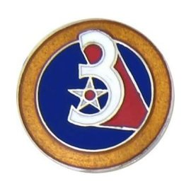 3rd Air Force Pin  (3/4 inch)